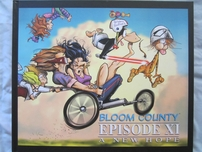 Berke Breathed autographed Bloom County Episode XI A New Hope book