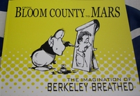Berke Breathed autographed Bloom County to Mars book