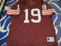 Bernie Kosar Cleveland Browns authentic Champion stitched throwback jersey