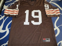 Bernie Kosar Cleveland Browns authentic Nike stitched brown throwback jersey