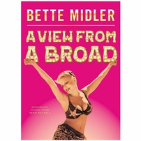 Bette Midler autographed A View From A Broad hardcover book