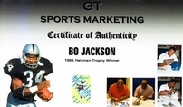 Bo Jackson autographed Bo Knows 16x20 poster size Nike baseball & football photo matted & framed (GTSM)