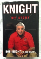 Bob Knight autographed My Story hardcover book