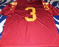 Carson Palmer or Keyshawn Johnson #3 USC Trojans red authentic Nike stitched jersey