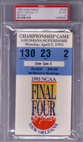 College Basketball Memorabilia