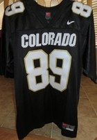 Daniel Graham Colorado Buffaloes authentic Nike double stitched black jersey NEW