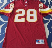 Darrell Green Washington Redskins authentic Russell burgundy jersey
