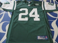 Darrelle Revis New York Jets authentic Reebok GAME MODEL stitched green jersey NEW