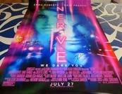 Dave Franco & Emma Roberts autographed Nerve full size 2016 movie poster