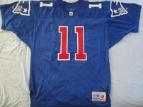 Drew Bledsoe New England Patriots authentic 1993 ROOKIE SEASON Wilson game model stitched jersey