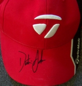 Dustin Johnson autographed Taylor Made golf cap or hat