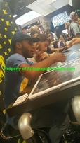 Dylan Sprayberry Khylin Rhambo Cody Christian autographed Teen Wolf 2016 Comic-Con poster