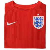 England 2014 FIFA World Cup Nike away red soccer jersey or kit NEW