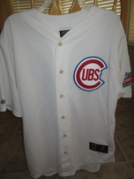 Ernie Banks autographed Chicago Cubs 1953 ROOKIE SEASON authentic Majestic throwback jersey