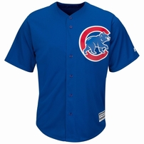 Ernie Banks Chicago Cubs authentic Majestic replica stitched jersey NEW