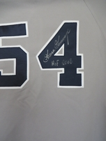 Goose Gossage autographed New York Yankees authentic game model jersey inscribed HOF 2008