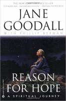 Jane Goodall autographed Reason For Hope softcover book