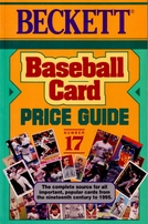 Jim Beckett autographed Sport Americana Baseball Card Price Guide #17 book
