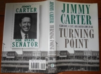 Jimmy Carter autographed Turning Point hardcover book