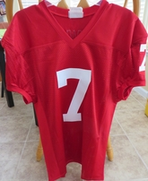 John Elway Stanford Cardinal red stitched #7 jersey NEW