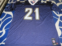 LaDainian Tomlinson San Diego Chargers authentic Reebok stitched navy blue jersey NEW