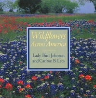 Lady Bird Johnson autographed Wildflowers Across America hardcover book