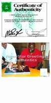 Magic Johnson autographed 1979 NCAA Championship Game 16x20 poster size photo (with Larry Bird)