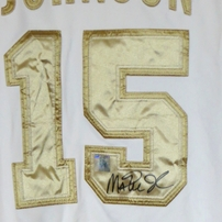 Magic Johnson autographed 1992 USA Basketball Dream Team Nike Gold Medal jersey (Superstar Greetings)