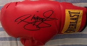 Manny Pacquiao autographed Everlast boxing glove