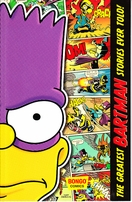 Matt Groening autographed doodled dated Simpsons Bartman 2014 Comic-Con exclusive comic book or trade paperback
