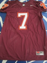 Michael Vick Virginia Tech Hokies authentic Nike stitched mesh throwback jersey NEW
