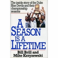 Mike (Coach K) Krzyzewski autographed A Season Is A Lifetime hardcover book