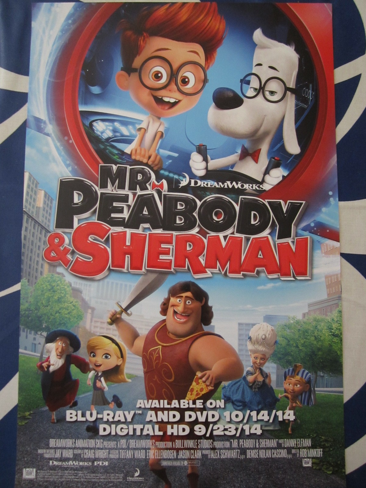 mr peabody and sherman mini movie poster movie posters