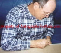 Nolan Ryan autographed 6x8 photo collage