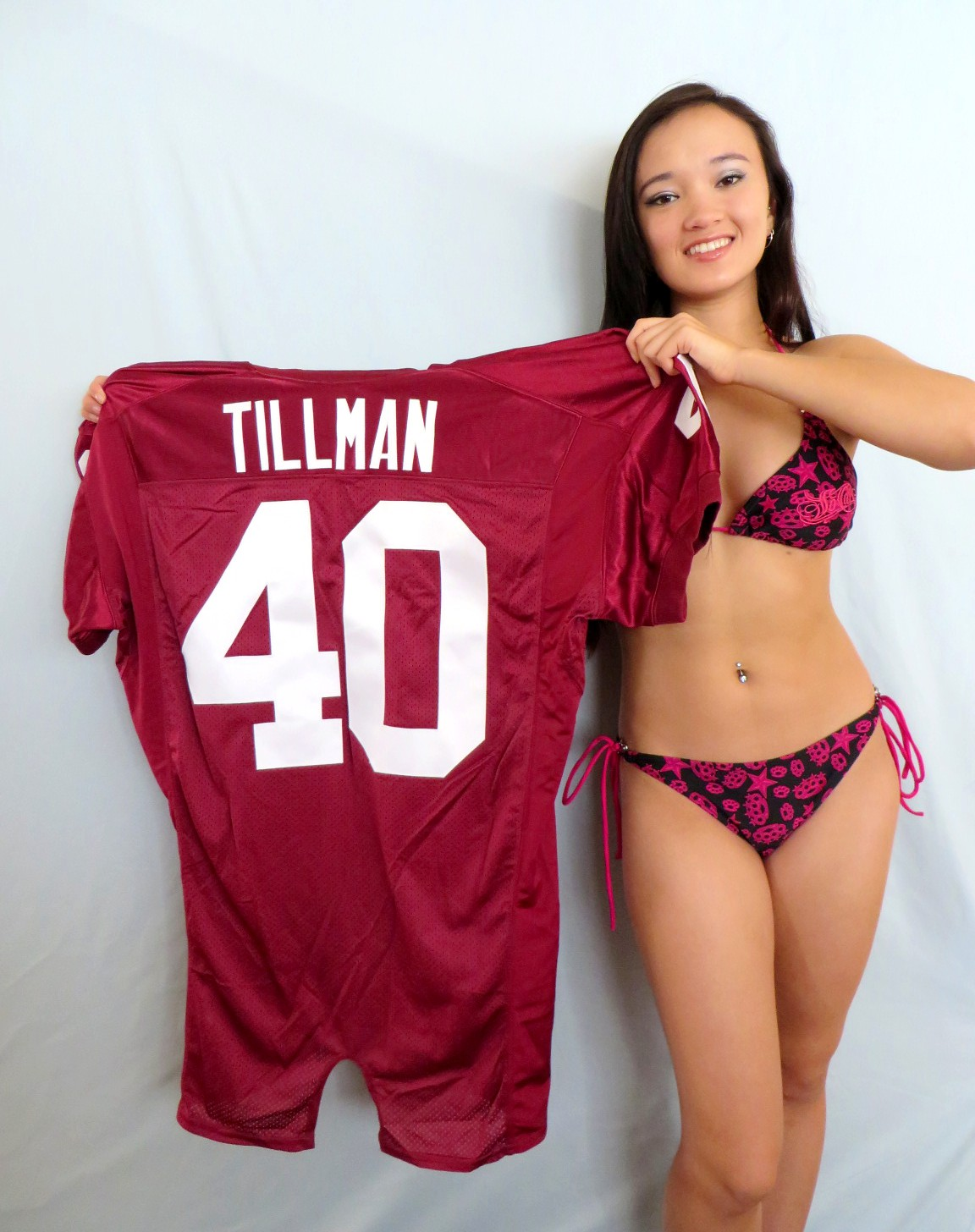 Nike Cardinals #40 Pat Tillman White Men's Stitched NFL Limited Salute to Service Jersey
