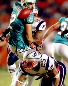 Patrick Chung autographed New England Patriots 2010 punt block 8x10 photo
