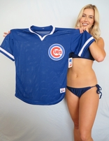 Ryne Sandberg Chicago Cubs original Rawlings 1980s batting practice jersey