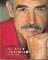 Sean Connery autographed Being A Scot hardcover book (inscribed To Lee)