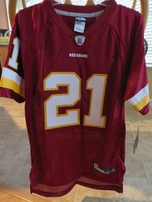 Sean Taylor Washington Redskins authentic Reebok NFL Equipment stitched burgundy youth XL jersey