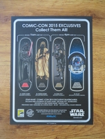 Star Wars R2-D2 artwork 9x12 inch mini promo poster or print (2015 Comic-Con exclusive)