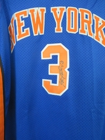 Stephon Marbury autographed New York Knicks authentic Reebok stitched jersey