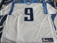 Steve McNair Tennessee Titans authentic Reebok double stitched white jersey NEW