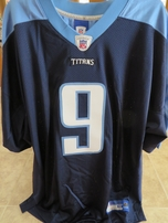 Steve McNair Tennessee Titans authentic Reebok GAME MODEL navy blue stitched jersey NEW