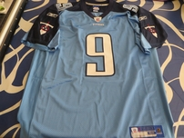 Steve McNair Tennessee Titans authentic Reebok GAME MODEL stitched light blue jersey NEW