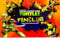 Teenage Mutant Ninja Turtles TMNT Fan Club 2013 Comic-Con 5x8 artwork promo card set (6)