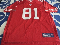 Terrell Owens San Francisco 49ers 2002 authentic Reebok stitched red jersey