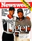 Tiger Woods autographed 1996 Newsweek magazine inscribed Best wishes!