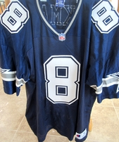 Troy Aikman Dallas Cowboys authentic Champion stitched blue late 1990s throwback jersey
