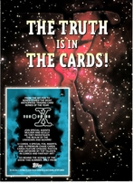 X-Files 1995 Topps 5x7 jumbo promo card RARE