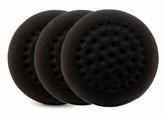 1-Pad Black Foam Finishing Pads, 3 pack